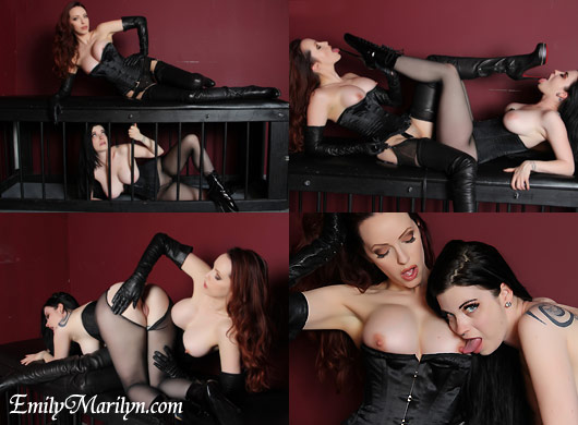 emily marilyn perfect slave girl