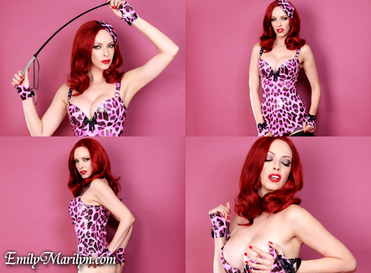 Emily Marilyn pervy in pink