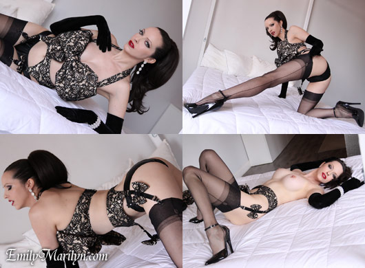 Emily Marilyn Senusal Seductress