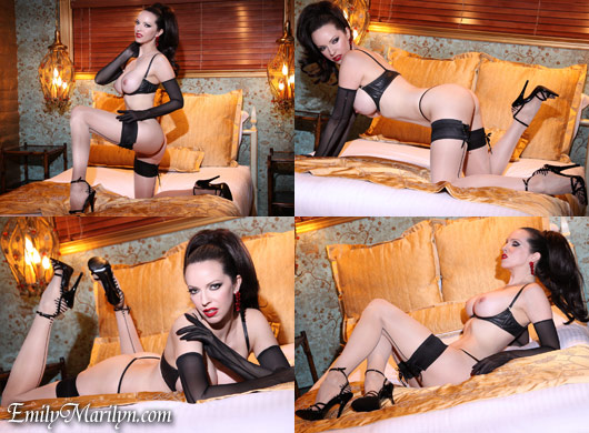 Emily Marilyn sexy seductress