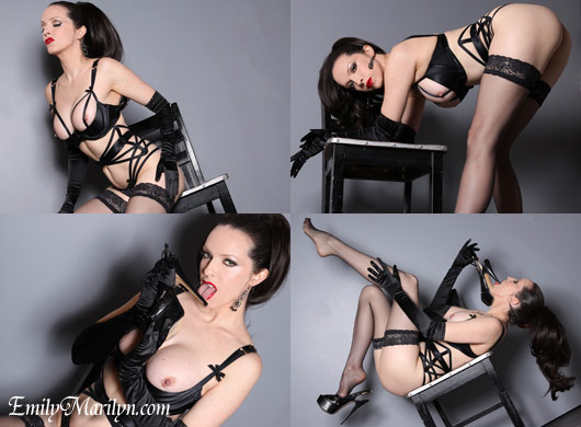 Emily Marilyn high heel obsession