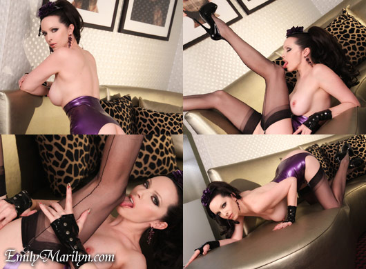 EMily Marilyn so lickable