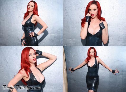 Emily Marilyn latex love