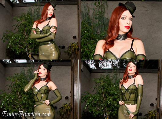 Emily Marilyn transparent fashion