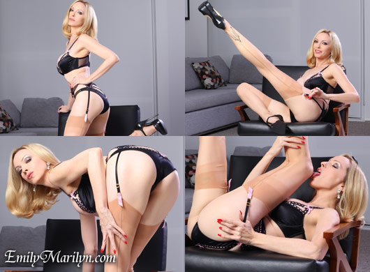 Emily Marilyn heels for sex