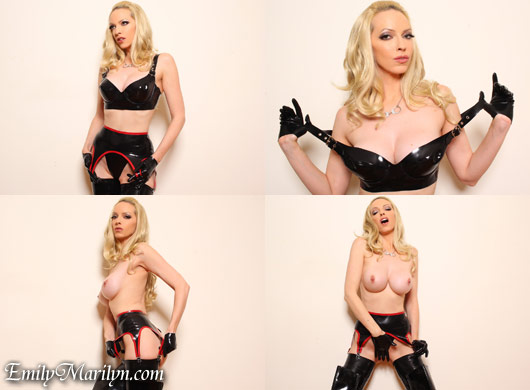 Emily Marilyn rubber lust