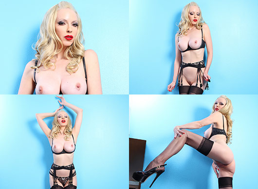 Emily Marilyn red latex