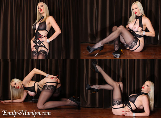 Emily Marilyn wrapped in lust